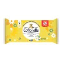Cottonelle lingettes hygiéniques humides simple épaisseur, blanc - 1 x 44 lingettes