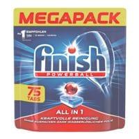 finish Paquet de 75 tablettes pour lave-vaisselle « All in 1 Megapack »