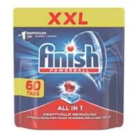 finish Paquet de 60 tablettes pour lave-vaisselle « All in 1 XXL »