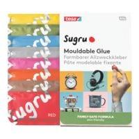 tesa Paquet de 8 pâtes modelables fixantes multi-usages « Sugru » formule famille