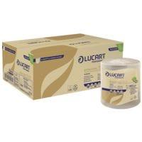 Essuie-mains en papier Lucart Professional EcoNatural 155 ID 2 épaisseurs, nature