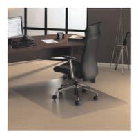 plaque protège-sol pour moquettes, polycarbonate, rectangulaire 120 x 183 cm, OTTO Office Standard