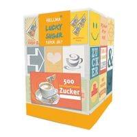 Hellma Paquet de 500 morceaux de sucre « Lucky Sugar Paper Art »