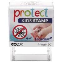 Colop Tampon à motifs auto-encreur « Protect Kids »