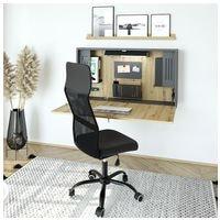 HAMMERBACHER bureau mural VWO12 »Home Office« 120 cm, pliable sans support