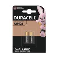 Duracell Paquet de 2 piles MN21 (A23)