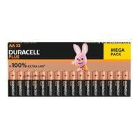 Duracell Paquet de 32 piles « Power Plus » Mignon / AA / LR06
