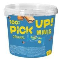 LEIBNIZ Paquet de 100 barres à deux biscuits « PiCK UP! minis Choco »