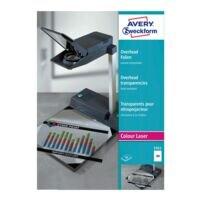 Avery Zweckform Films laser couleur pour rétroprojecteurs « transparent »
