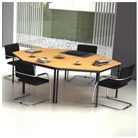 HAMMERBACHER Lot de tables pour conférence et de réunion « Melbourne »