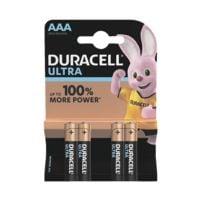 Duracell Paquet de 4 piles «Ultra» Micro / AAA / LR03