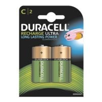 Duracell Piles rechargeables « Standard » Baby / C / HR14