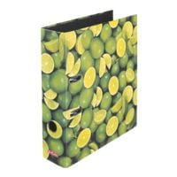 Classeur à motifs A4 Herlitz Citron vert large
