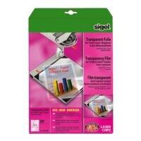 SIGEL Films laser couleur pour rétroprojecteurs
