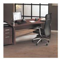 plaque protège-sol pour sols durs et moquettes, polycarbonate, rectangulaire 180 x 200 cm, OTTO Office Standard