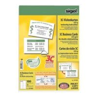 SIGEL Cartes de visite LP850