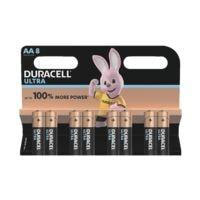 Duracell Paquet de 8 piles  «Ultra» Mignon / AA / LR06