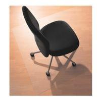 plaque protège-sol pour sols durs, Makrolon®, rectangulaire 110 x 120 cm, RS Office Products ecogrip