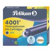 Pelikan Cartouches d'encre « 4001 » (6 pièces)