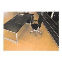 plaque protège-sol pour sols durs, Makrolon®, rectangulaire 110 x 120 cm, RS Office Products Rollsafe