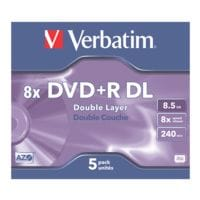 Verbatim DVD vierges double couche « DVD+R DL »
