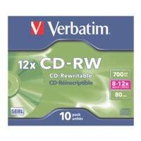 Verbatim CD vierges « CD-RW »