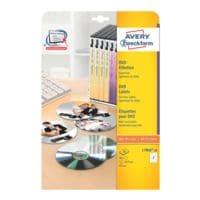 Avery Zweckform Paquet de 40 étiquettes DVD « L7860-20 »