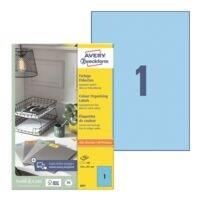 Avery Zweckform Paquet de 100 étiquettes couleur