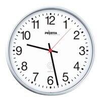Peweta Uhren Horloge murale radioguidée 51.130.313 Ø 30 cm