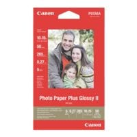 Canon Papier photo « Glossy Plus II » 10x15 50 feuilles
