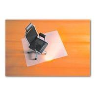 plaque protège-sol pour moquettes, polypropylène, rectangulaire 110 x 120 cm, bsm Plaque protège-sol