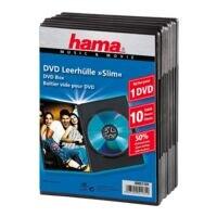 Hama Boîtiers DVD/Blu-ray « Slim » - 10 pièces