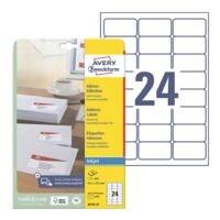 Avery Zweckform Paquet de 600 étiquettes adresse « J8159-25 »