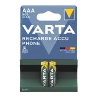 Varta Piles rechargeables « RECHARGE ACCU Phone » Micro / AAA / HR03