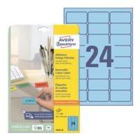 Avery Zweckform Paquet de 480 étiquettes couleur