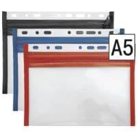 Veloflex Pochette à fermeture éclair pour masques A5 «VELOBAG® XXS 43500»
