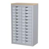 Paperflow rmoire à tiroirs - 12 rangées de 2 tiroirs
