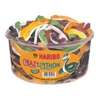 Haribo Bonbons gélifiés « Crazy Pythons »