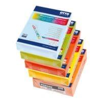 5x Papier imprimante couleur A4 OTTO Office COLOURS en mélange de couleur - 2500 feuilles au total
