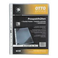 OTTO Office Premium pochette perforée premium A4 transparent, ouverture en haut - 100 pièce(s)