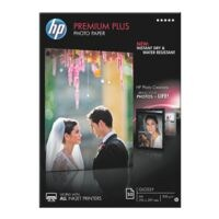 HP Papier photo « HP premium plus photo paper CR674A » A4 50 feuilles