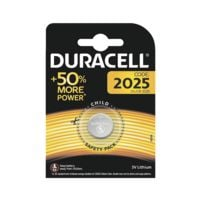 Duracell Pile bouton CR2025