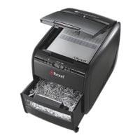 destructeur de documents Rexel Auto+ 60X, Niveau de sécurité 3, coupe « croisée » (4 x 45 mm) jusqu'à 60 feuille(s)