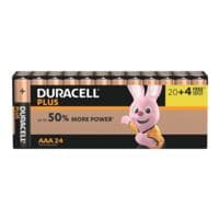 Duracell Paquet de 24 piles « Plus Power » Micro / AAA / LR03