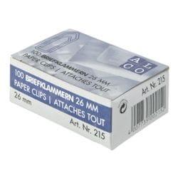 Alco Trombones 26 mm, argentés, 100 pièces