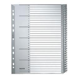LEITZ Intercalaires en plastique «1281» 1-31 A4 Maxi