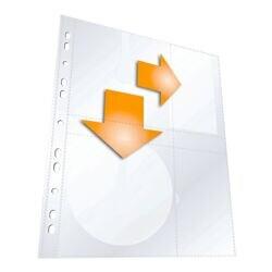 Durable Pochettes de protection pour CD/DVD/Blu-ray