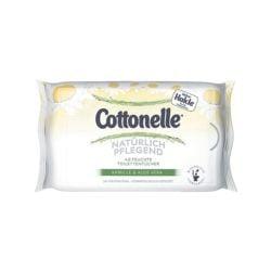 Hakle Lingettes hygiéniques humides « Cottonelle camomille & Aloe vera »