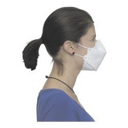 BBE Solutions Paquet de 50 masques FFP2 design à 3 panneaux « Y-Serie YX011 » sans valve