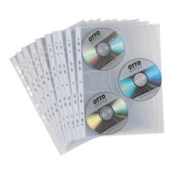 OTTO Office Pochettes de protection pour CD/DVD/Blu-ray